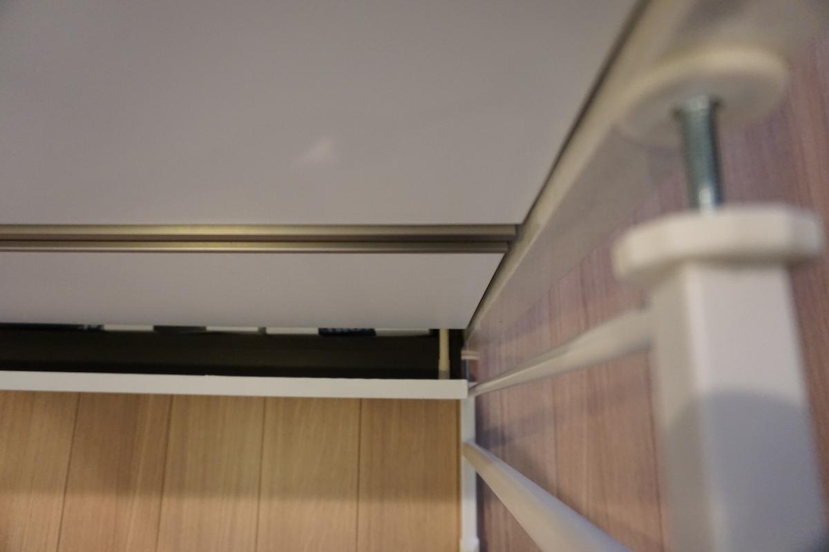 ベビーズゲイトを3cmの幅に取り付けてみた結果