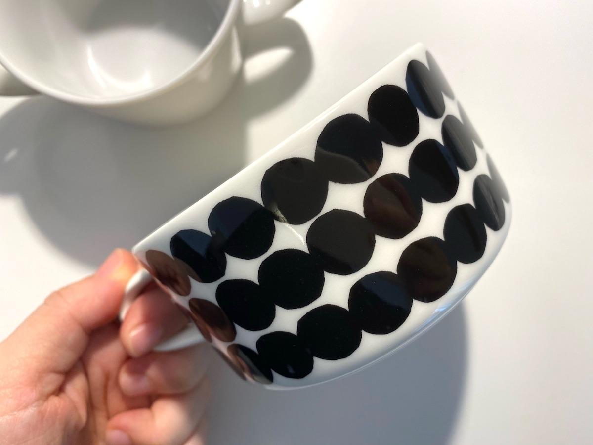 今回作るマリメッコのカップはこれ