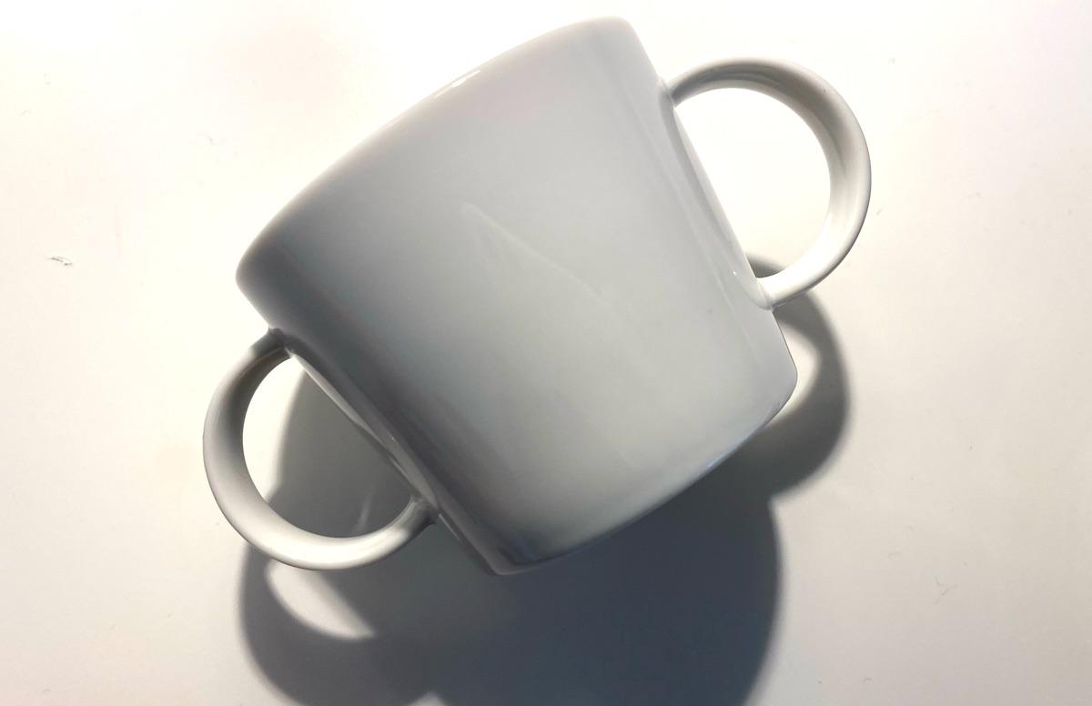 子供食器でマリメッコのカップをつくる