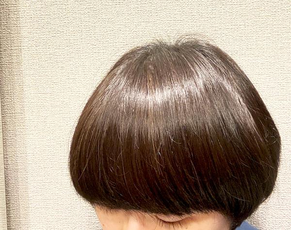 バイオレットリーフヘアーバームを髪に使ってみる