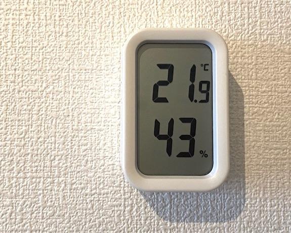オイルヒーターで湿度・温度を一定に保つ